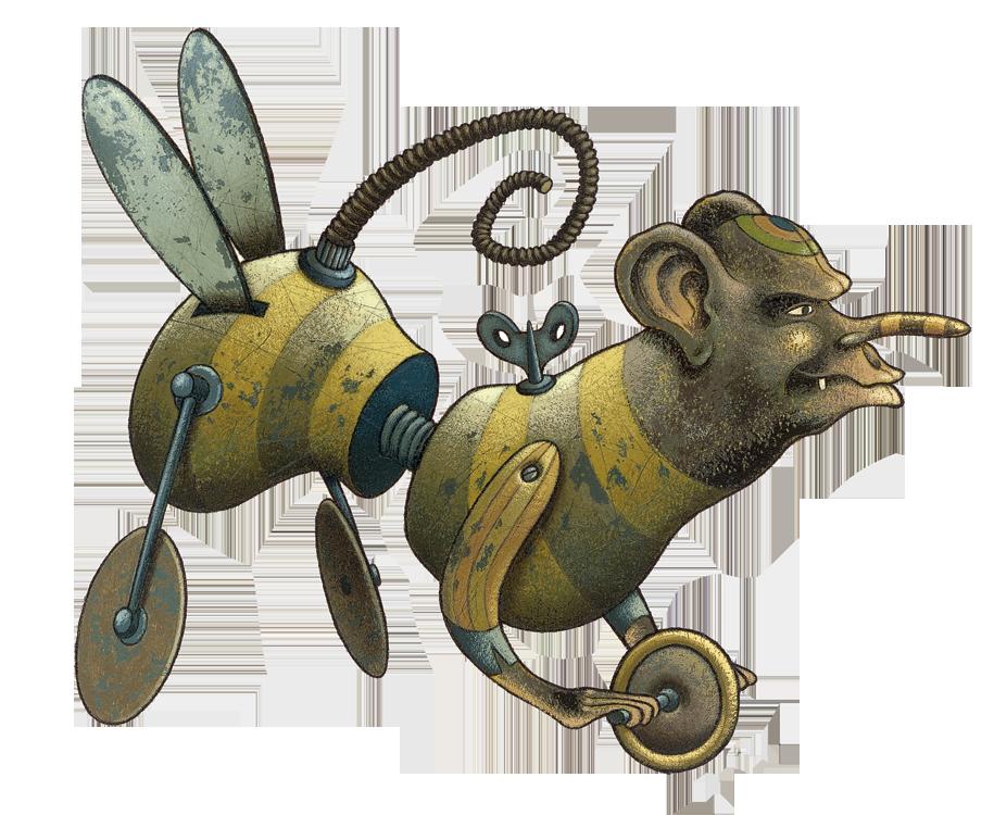 polturgeon-Monkey